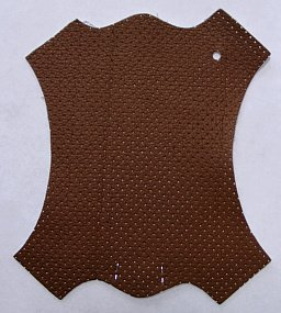 Brandy Perforated Brown