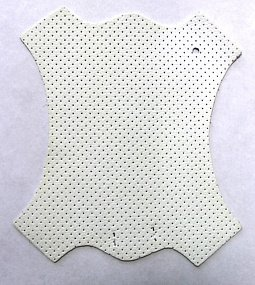 Brandy Perforated White
